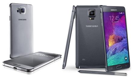 Samsung Galaxy Note 4/Alpha/A3/A5 reconditionné, Garanti 1 an, livraison gratuite