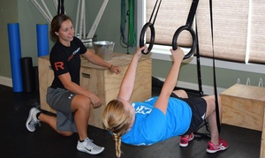 CrossFit Gansett: Four On Ramp Classes, Month of Unlimited Classes, or Both at CrossFit Gansett (Up to 61% Off)