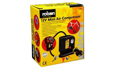 Mini compresor de aire 12V Rolson por 15,98€