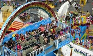 Magicpark Land: Entrée pour 1 ou 2 adultes et 1 à 3 enfants dès 23 € au Magicpark Land