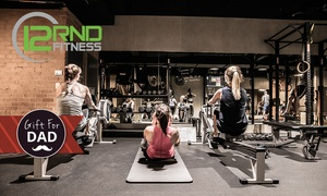 12RND Fitness: Five Class Pass for One ($8) or Two People ($12) at 12RND Fitness - 16 Locations, Nationwide (Up to $250 Value)