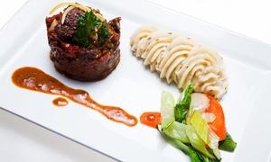 """Au Verre Y Table: Frans menu in 4 of 5 gangen voor 2 of 4 personen bij restaurant """"Au Verre Y Table"""""""