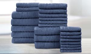 Spa Collection 100% Cotton Ultra-Soft Towel Set (24-Piece)