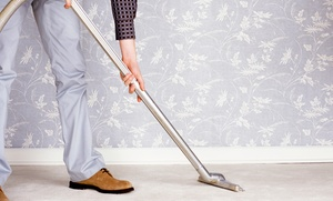 Honest Abe Carpet & Upholstery care: Carpet or Sofa and Love Seat Cleaning from Honest Abe Carpet & Upholstery Care (Up to 50% Off)