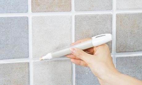 Hasta 6 blanqueadores y marcadores de azulejos