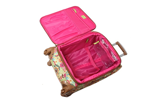 90244bf784 Lily Bloom Expandable Spinner Luggage Set (4-Piece)