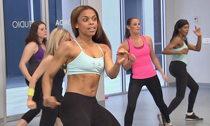 Alluring flirty girl fitness classes looking girl