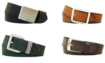 Tom Tailor Men's 40mm Leather Belt