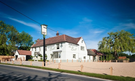 ThreeCourse MichelinListed Meal for Two or Four at The Bull and Willow Room