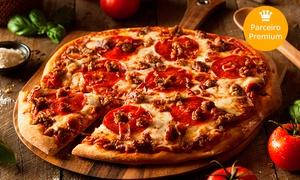 Gordão Lanches - Glicério: 1 pizzagrande (serve 8 fatias) na Gordão Lanches – Glicério