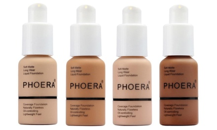 Phoera Full Coverage MakeUp Foundation 30ml