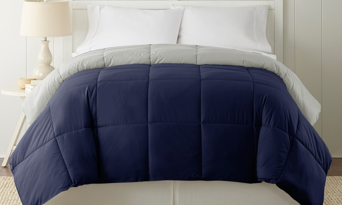Up To 88 Off On Reversible Down Alt Comforter Groupon Goods,Diwali Home Decorations