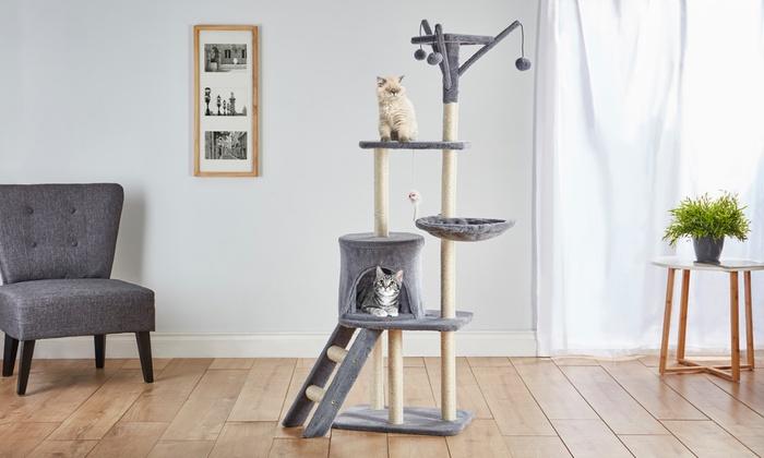 Großer Kratzbaum Für Katzen Groupon Goods
