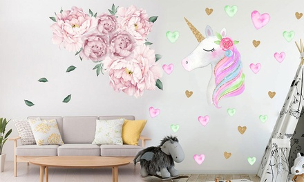 Removable Sticker Wall Decals: One $9.95 or Two $15