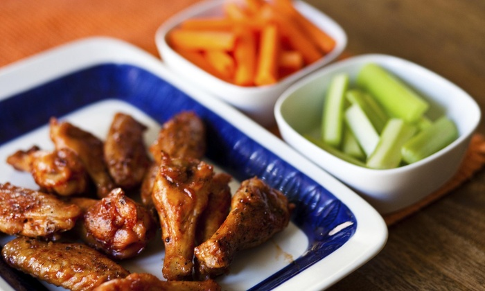 Wingit - Kirby: One Dozen Chicken Wings and Drinks at Wingit (45% Off)