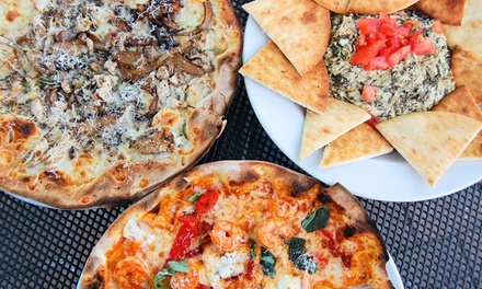 $5 for $10 Worth of Brixx Wood Fire Pizza Delivered by OrderUp