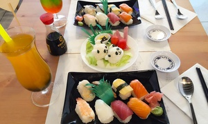 ICHIBAN EXPRESS SUSHI &BUBBLE TEA: Kawaii Bento Sushi Experience with Bubble Tea for Two or Four at Ichiban Express