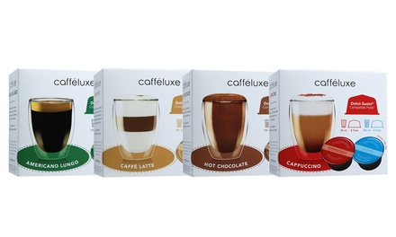 64 dolce gusto capsules groupon. Black Bedroom Furniture Sets. Home Design Ideas