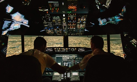 Jet Flight Simulator 30 Minutes $79 or One Hour $129 at Jet Flight Simulator, Fyshwick Up to $349 Value