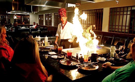 Japanese and Hibachi Cuisine at Osaka Steakhouse (Up to 43% Off). Two Options Available.