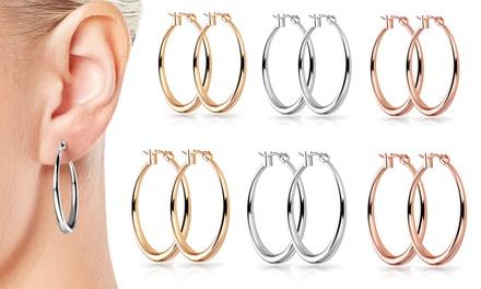 Boucle d'oreilles 30 ou 40mm