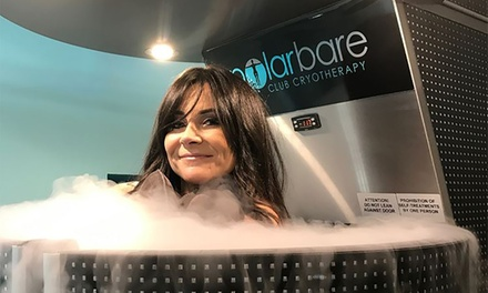 Whole Body Cryotherapy 1 $59, 3 $169 or 5 Sessions $239 at Polar Bare Club Cryotherapy Up to $395 Value