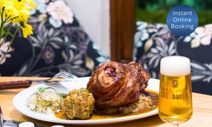 Das Bierhaus: $30 for $50 Spend on Austrian Food and Drinks for Minimum Two People at Das Bierhaus