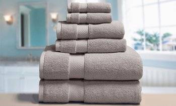 Elle Luxury Towel set (6-Piece)