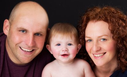 "image for 60-Minute Family Photoshoot With Four 8"" x 6"" Prints from The Studio (94% off)"