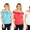 Kelly Jo Short-Sleeve Fashion Blouse