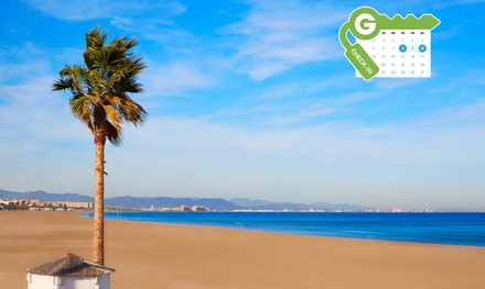Valencia: estancia en habitación doble, triple o cuádruple con desayuno buffet en Hotel Benetússer 4*