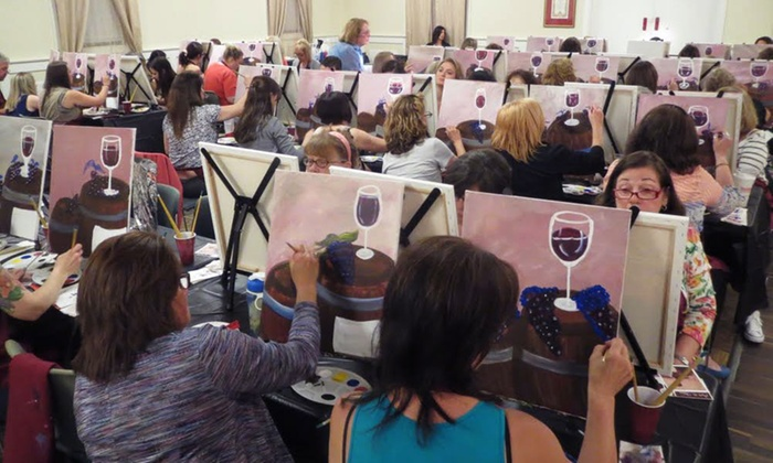 Art on the Vine: Admission to Painting Party for One or Two at Art on the Vine (Up to 53% Off)