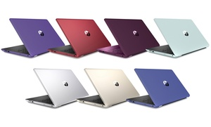 """HP 15.6"""" Touchscreen Laptop with Intel Pentium N3710 Processor"""