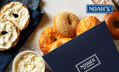 image for $15 eGift Card and $5 Bonus Card to Noah's New York Bagels (25% Off)
