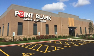 Point Blank Range & Gun Shop: Shooting Range Packages or Conceal Carry Classes at Point Blank Range & Gun Shop (Up to 56% Off)