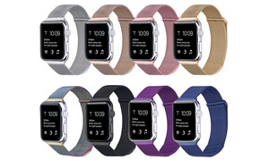 Milanese Loop Mesh Band for Apple Watch Series 1, 2, 3, & 4 at Milanese Loop Mesh Band for Apple Watch Series 1, 2, 3, & 4, plus 6.0% Cash Back from Ebates.