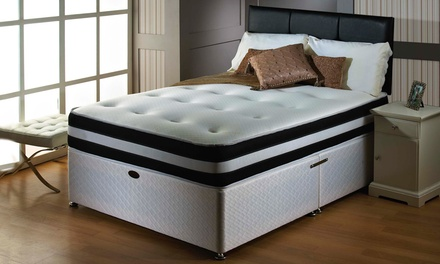 3d deep quilted orthopaedic mattress
