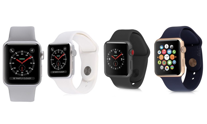 Apple Watch Series 3 Or 4 Gps And Cellular With Sport Band Ref Groupon