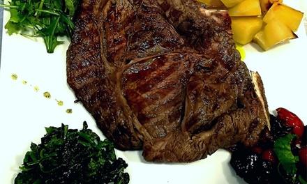Menu di carne o tagliata a Chiaia