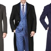 Braveman Men's Wool-Blend Overcoat (S-3XL)
