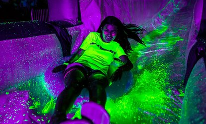 image for $13 for Admission for One, Valid July 28 to Blacklight Slide ($50 Value)