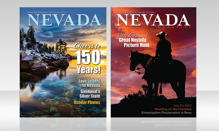 "Nevada Magazine: $17 for a One-Year ""Nevada Magazine"" Subscription and 2015 Historical Calendar  ($34.95 Value)"