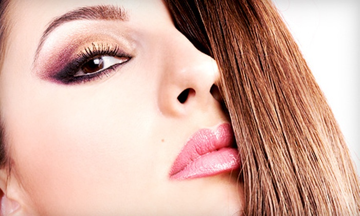 Esperanza at Au Ger Salon and Boutique - Sacramento: Brow-Shaping Sessions from Esperanza at Au Ger Salon and Boutique (Up to 57% Off). Three Options Available.
