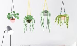 Stickers muraux fleurs et plantes