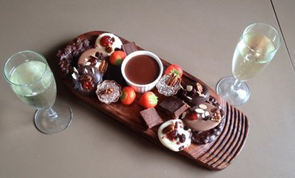 image for Chocolate Tasting Experience and Glass of Prosecco for Two or Four at The Grange Chocolate Cafe (Up to 26% Off)