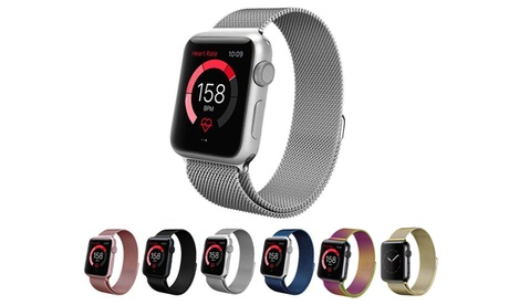 Stainless Steel Milanese Loop Replacement Band for 38mm or 42mm Apple Watches