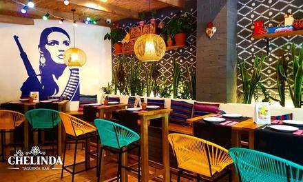 Menú Chelinda o Premium para 2 o 4 con entrante, principal y bebida desde 23,95 € en 4 locales La Chelinda