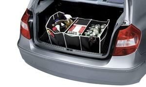 Foldable Car Trunk Organizer with Cooler