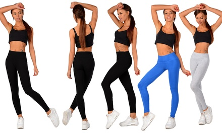 1 ou 2 packs legging sport coton modèle Lashonda, marque Zannini
