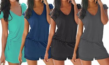 Women's Sleeveless Romper